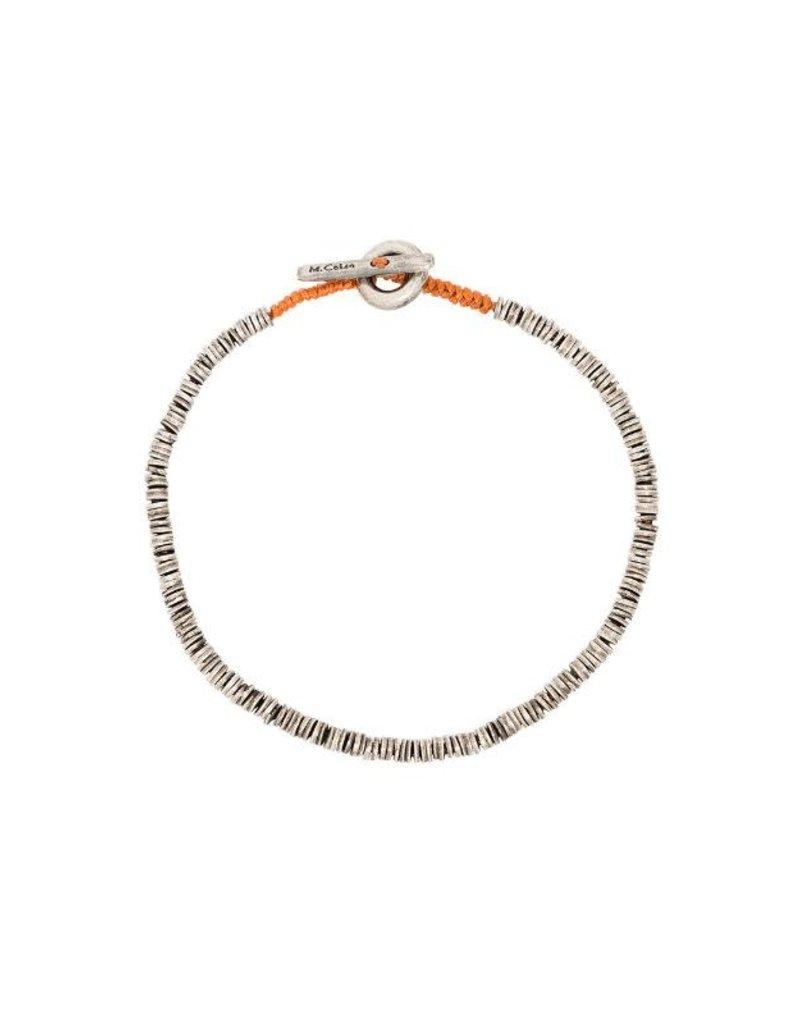 M.cohen M.Cohen Beaded Disc bracelet