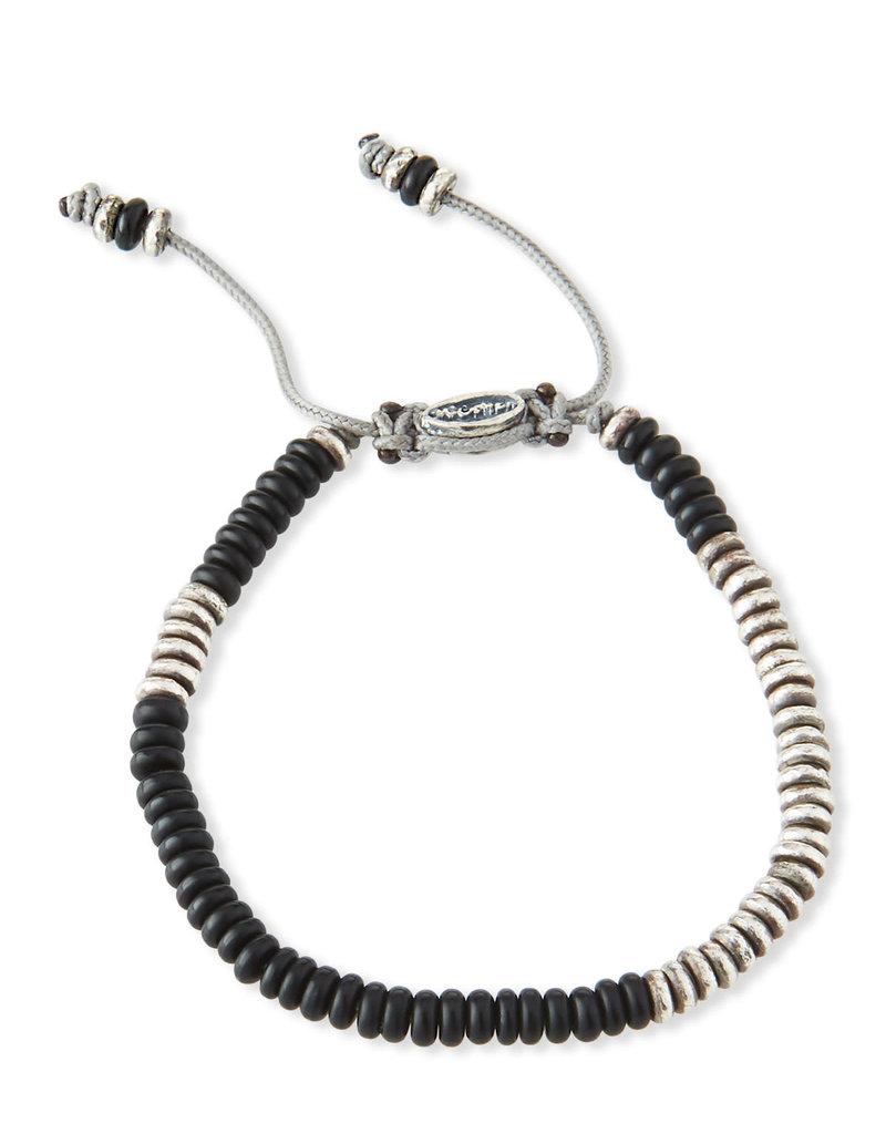 M.cohen M.Cohen Round Table Beaded Bracelet