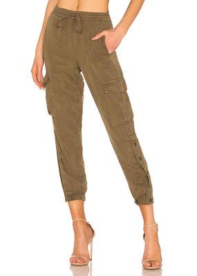 Pam & Gela Snap Leg Cargo pant