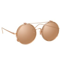 Linda Farrow Ash Round sunglasses