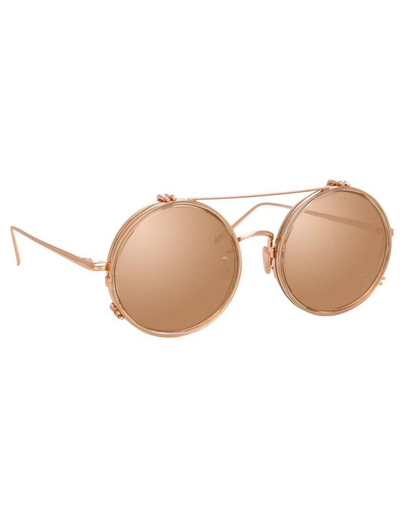 Linda Farrow Linda Farrow Ash Round sunglasses