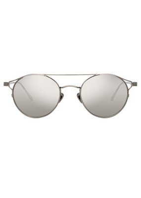 Linda Farrow Ali Oval sunglasses