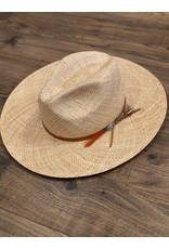 Lovely Bird Lovely Bird Capri Straw Fedora