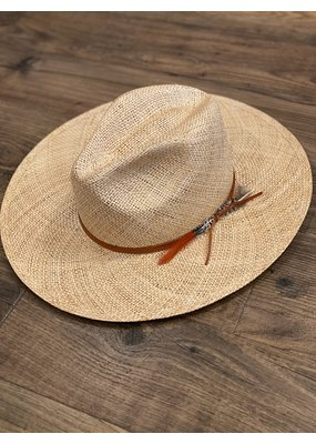 Lovely Bird Capri Straw Fedora