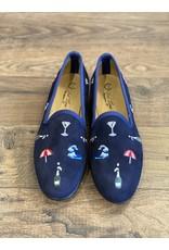 Del Toro Del Toro Embroidered Loafers