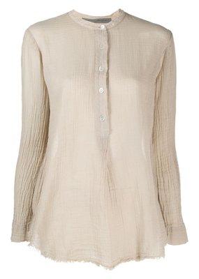 Raquel Allegra Perfect Henley Shirt