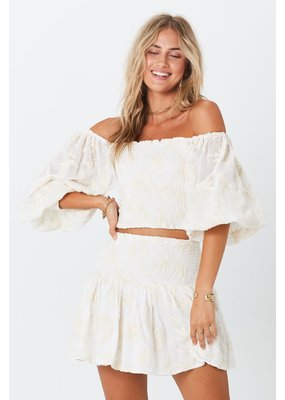 Jen's Pirate Booty Bonaire Crinkle Mini Skirt