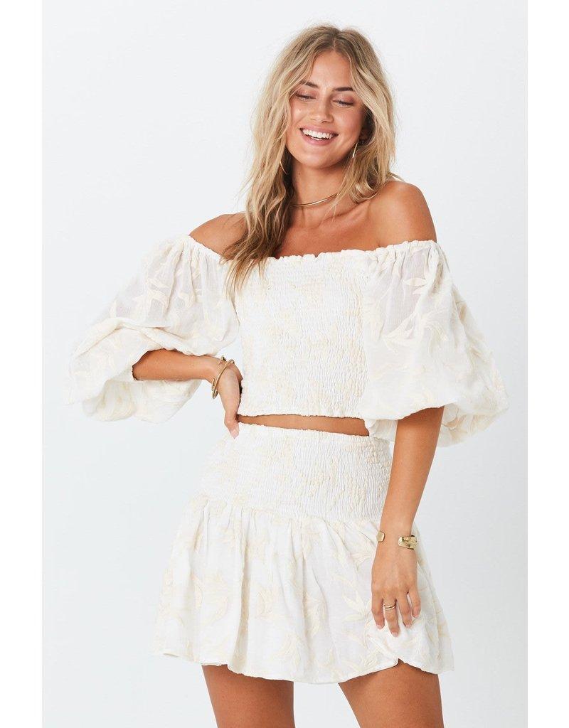 Jen's Pirate Booty Jen's Pirate Booty Bonaire Crinkle Mini Skirt