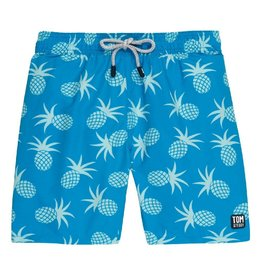 Tom & Teddy Pineapple Swim Trunks