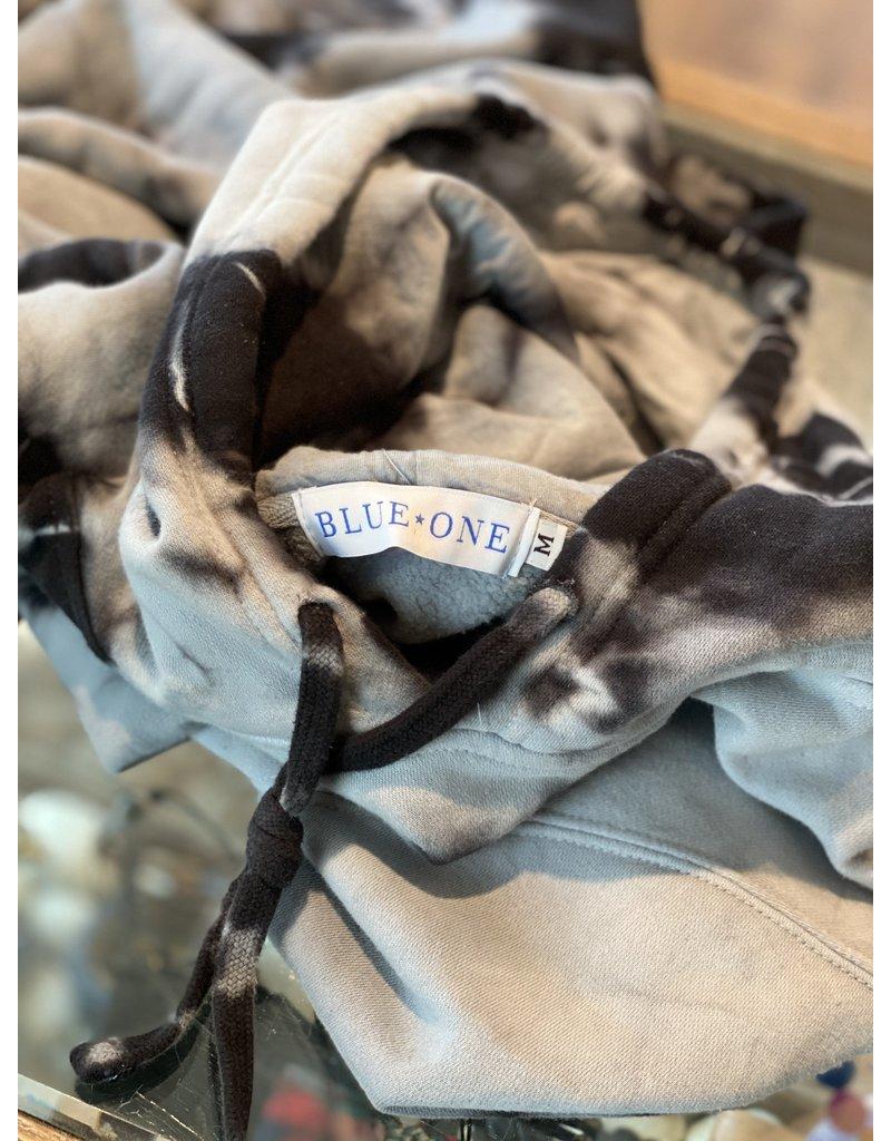 Blue One Blue One Tie-Dye hoodie