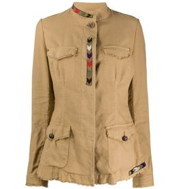 Bazar Deluxe Military Jacket with Beading