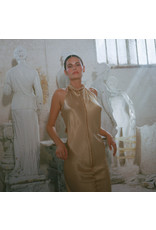 Jaga Jaga Silk Halter Dress