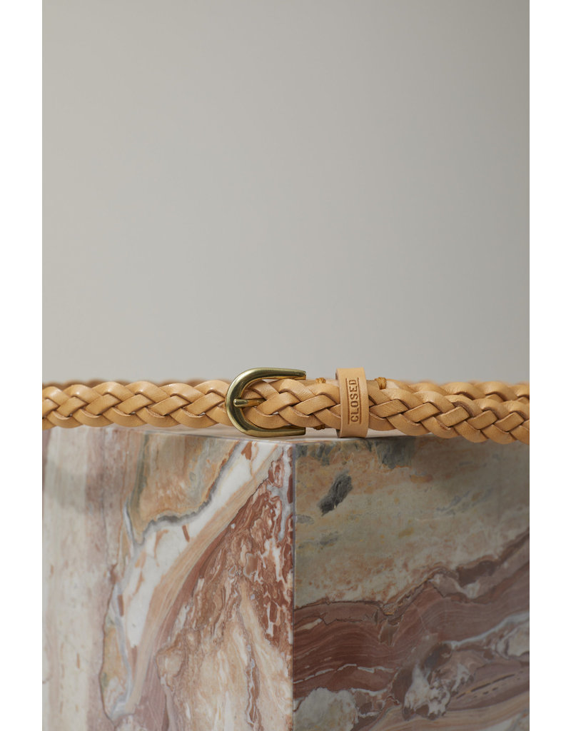 Closed Closed Braided Leather Belt
