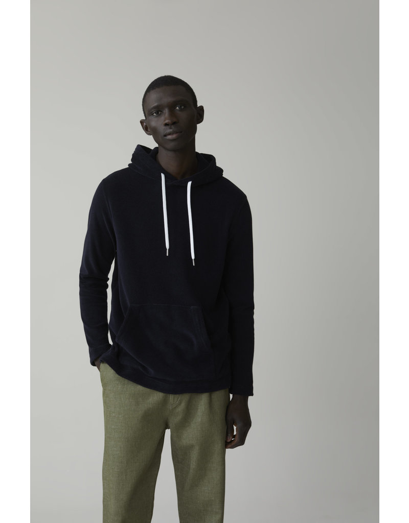 Closed Closed Hooded Terrycloth Pullover
