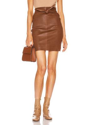 SPRWMN Front Tie Slip Skirt
