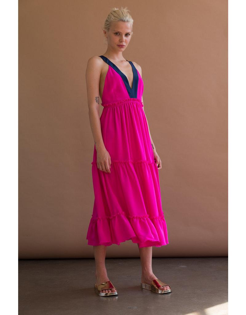 Le Superbe Le Superbe Bougainvillea dress