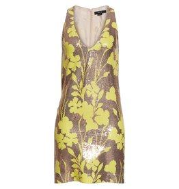 Smythe Deep V Mini Dress