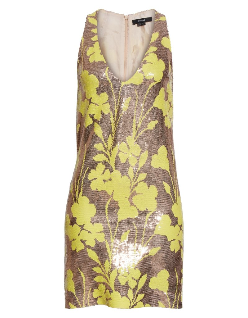 Smythe Smythe Deep V Mini Dress