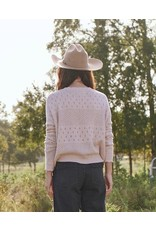 The Great The Great Scallop Pointelle Sweater