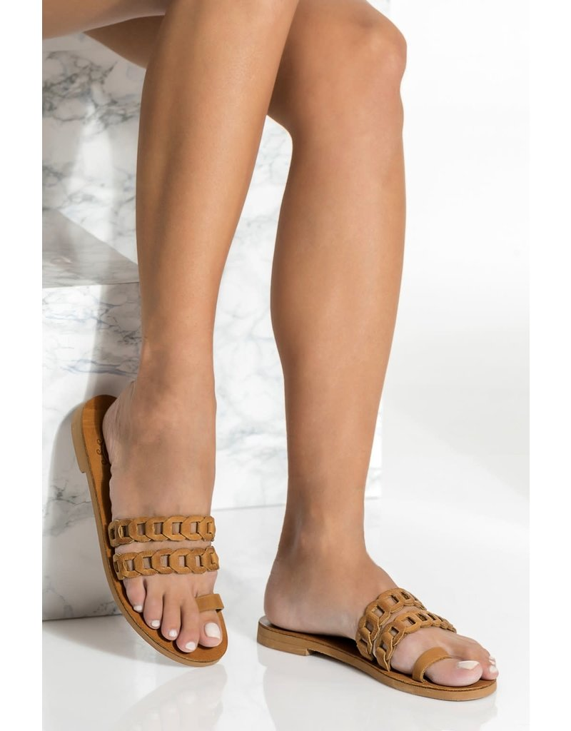 Greek Chic Greek Chic Aura Toe Ring Sandal