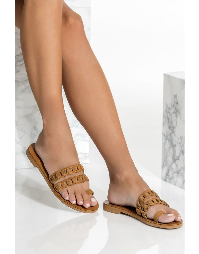 Greek Chic Greek Chic Aura Toe Ring Sandal