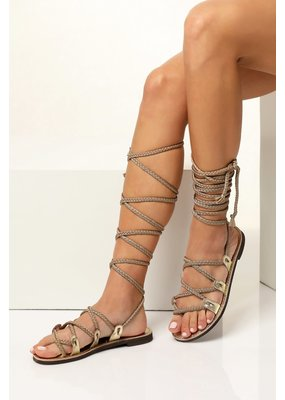 Greek Chic Selene Gladiator Sandals