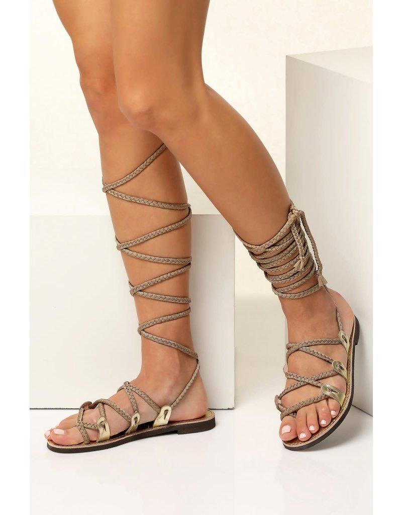 Greek Chic Greek Chic Selene Gladiator Sandals