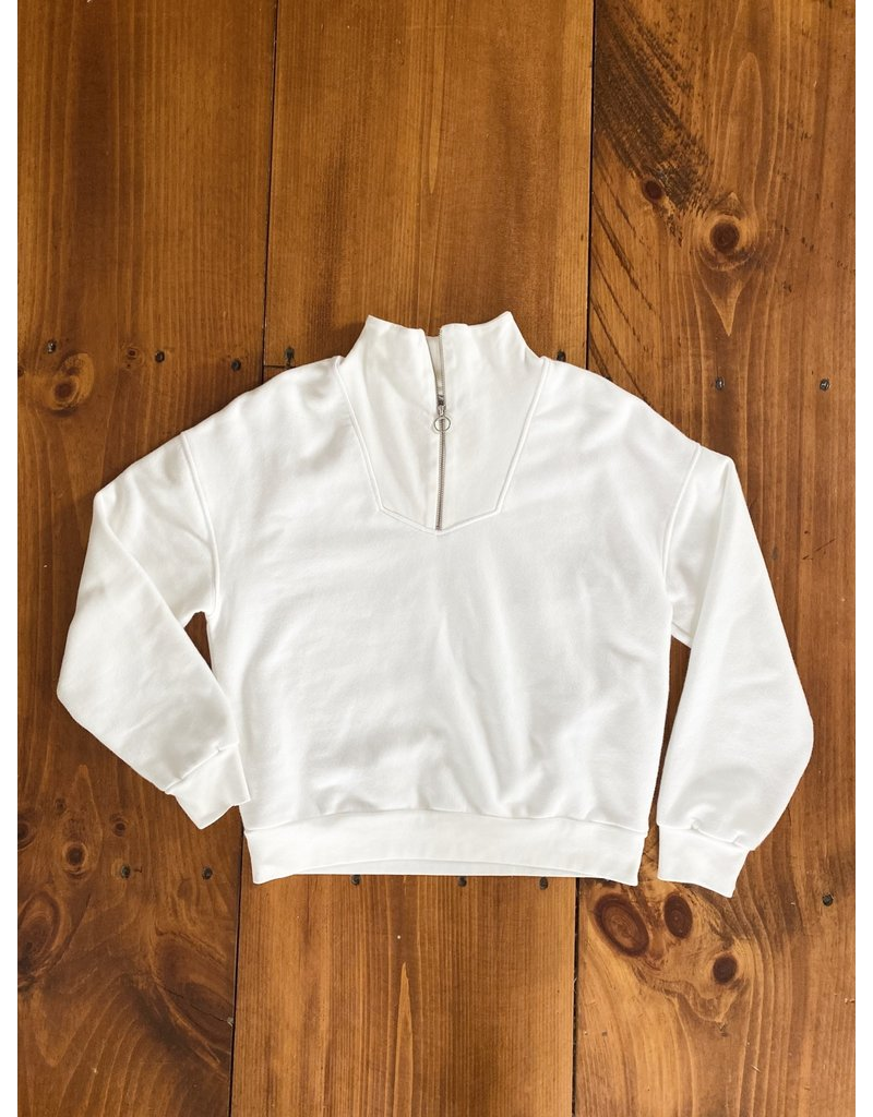 Closed Closed Half Zip Sweatshirt