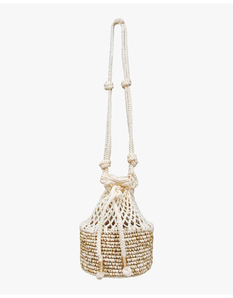 Sensistudio Sensi Studio Mini Crossbody with Macrame