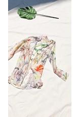 Saint Holiday Saint Holiday Printed Beach Shirt