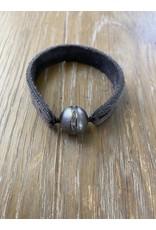 Fait Main Hand Made Fait Main Large Pave Diamond Row Bracelet