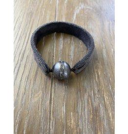 Fait Main Hand Made Large Pave Diamond Row Bracelet