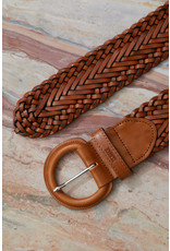 Closed Closed Thick Leather Braided Belt