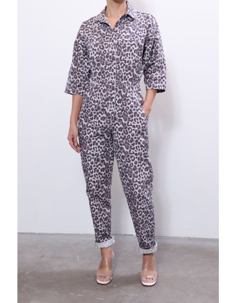 Overlover Overlover Hope Canvas Jumpsuit