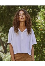 The Great The Great Cropped Polo Tee