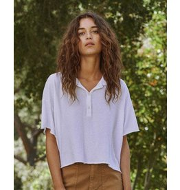 The Great The Cropped Polo Tee