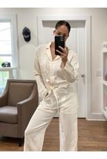 Overlover Overlover Magnolia Light Linen Jumpsuit