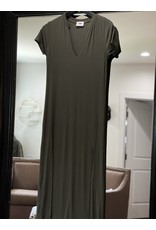 LNA LNA Easy Rib Tee Dress
