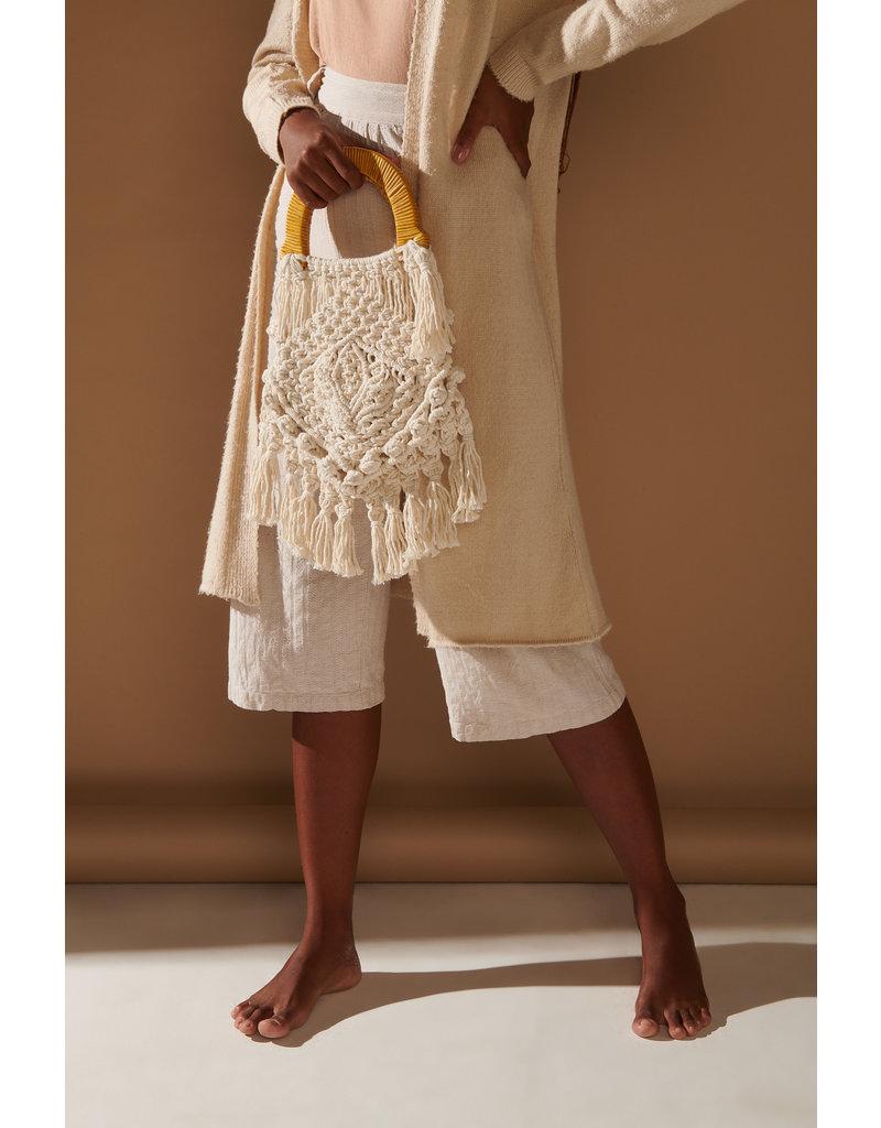 Nannacay Nannacay Lotus Fringe Bag