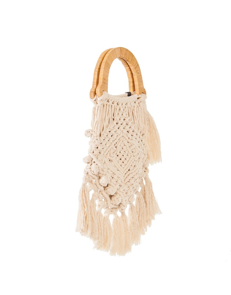 Nannacay Nannacay Lotus Fringe Bag