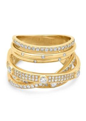 Jen Hansen Wander Diamond Ring