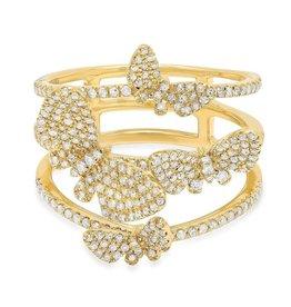 Jen Hansen Butterflies Ring