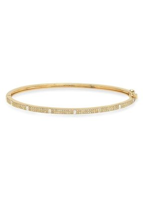 Jen Hansen Royal Diamond Hinge Bracelet