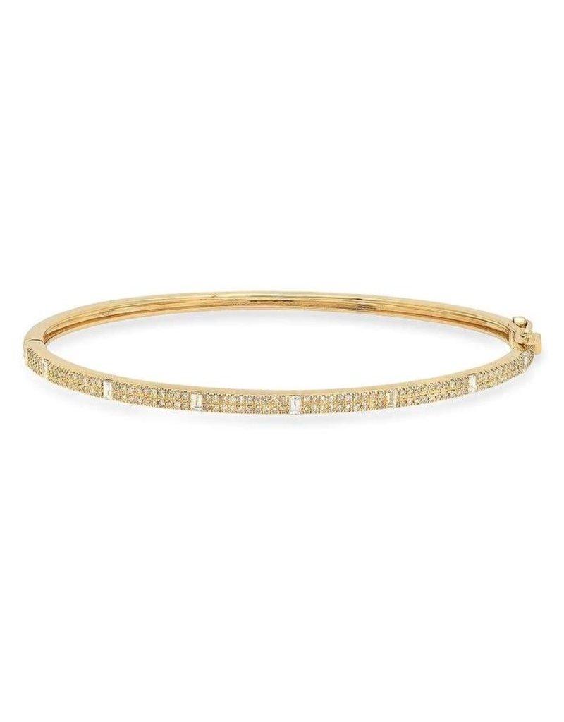 Jen Hansen Jen Hansen Royal Diamond Hinge Bracelet