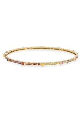 Jen Hansen Rainbow Sapphire Bracelet