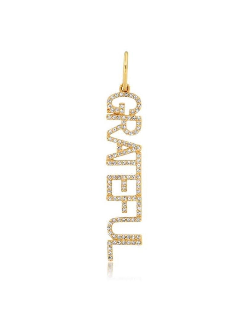 Jen Hansen Jen Hansen Grateful Gold Charm