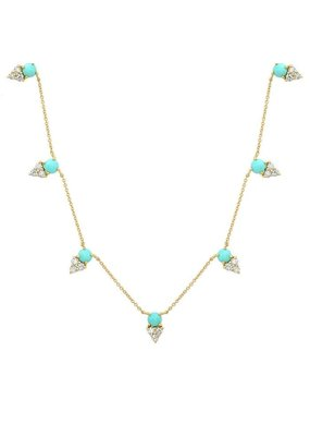 Jen Hansen Tribute Diamond Necklace