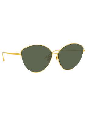 Linda Farrow Ella Cat-Eye Sunglasses