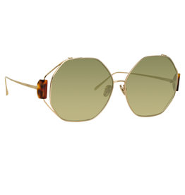 Linda Farrow Marie Oversized Sunglasses