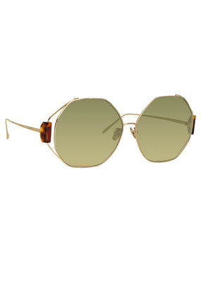 Linda Farrow Marie Oversized Sunglasses